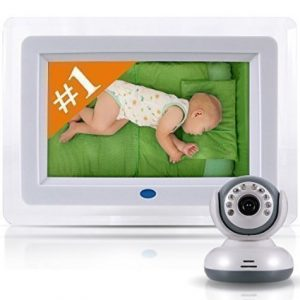 Best Video Baby Monitor - Amazing 7 Color LCD Screen