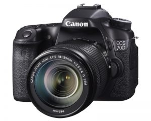 Canon EOS 70D Digital SLR Camera Full HD 1080p Video + EF-S 18-55mm F3.5-5.6 IS STM
