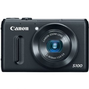 Canon PowerShot S100 12.1 MP Digital Camera with 5x Wide-Angle Optical Image Stabilized Zoom